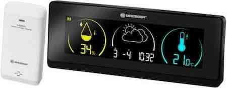 affichage station météo